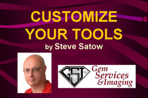 Customize Your Tools